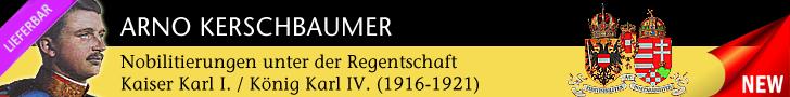 Buchpräsentation: Nobilitierungen  unter Kaiser Karl I. (1916-1918)